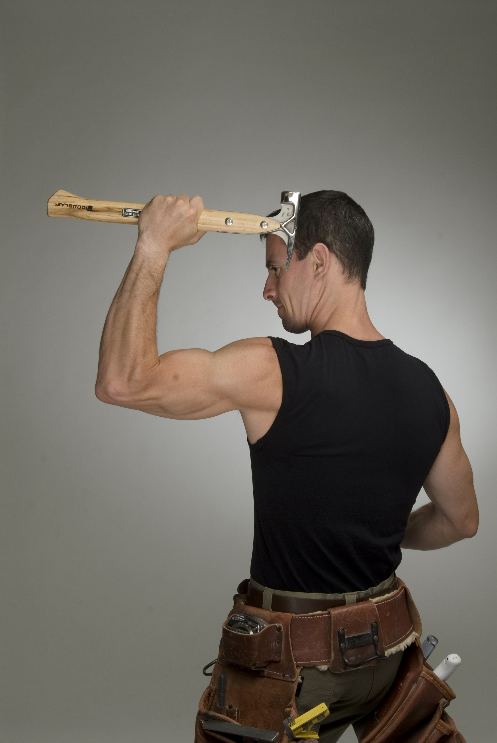 DIY fitness Mark Clement and the hammer MyFixitUpLife