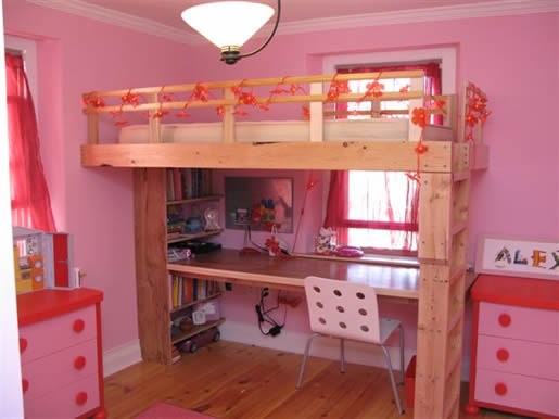 very low attic ideas - Girl's Room
