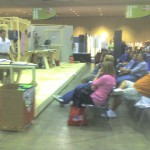 Mark teaching bath clinics at Remodeling Show