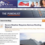 Roofing Material for Severe Weather