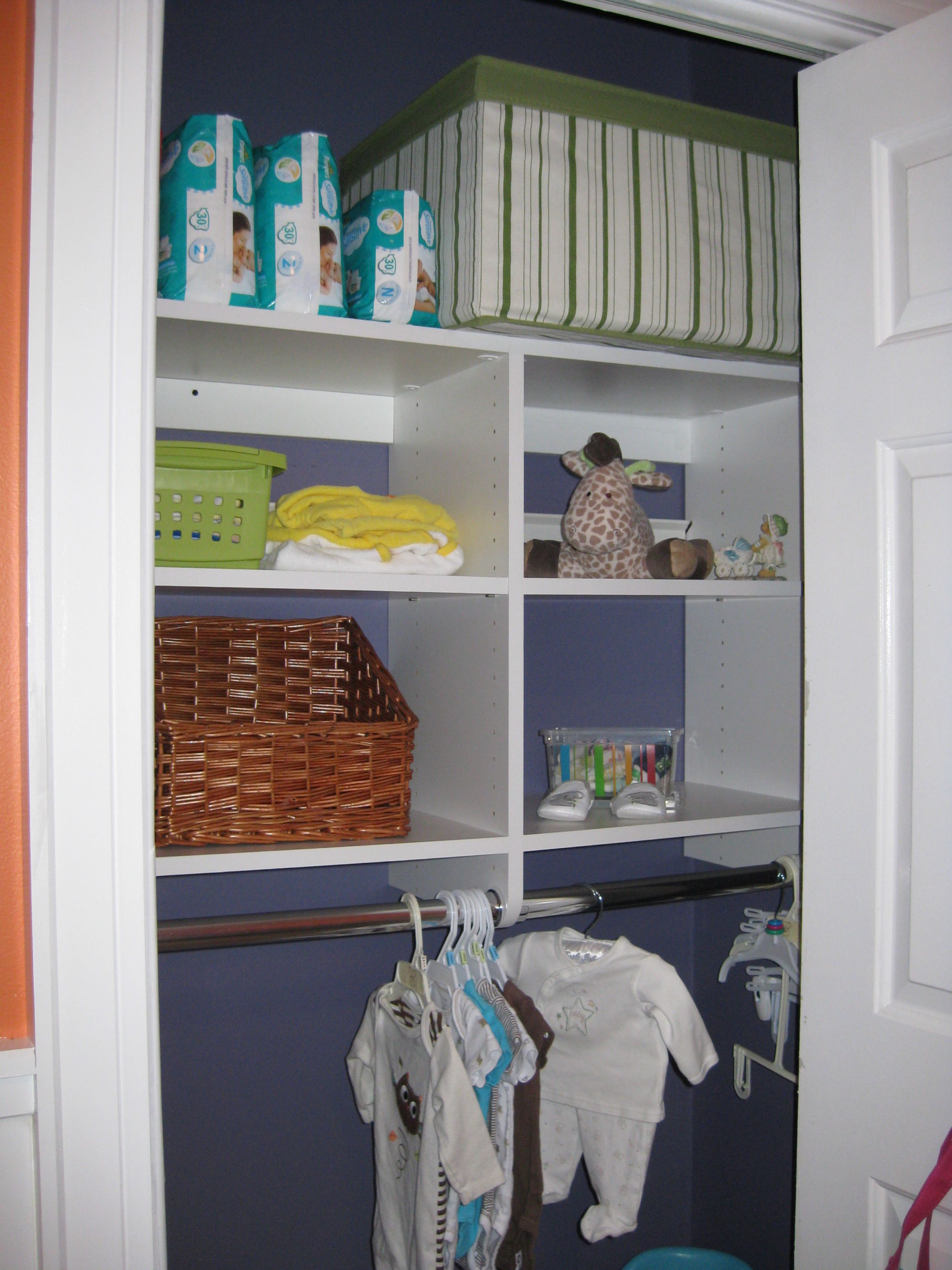 The U0027Afteru0027 Nursery Closet