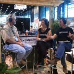 Bobby Parks talks w/ Mark & Theresa at Deck Expo 2011