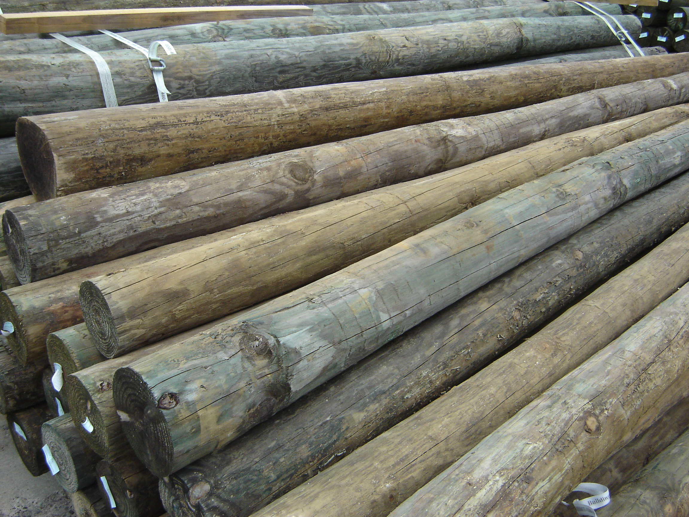 Wood dock pilings pilings and projects don t always be square