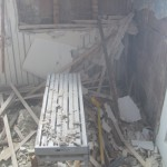 Old house retrofitting often makes demolition a necessity.