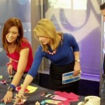 Theresa & Mark share Crafty Valentines with Jillian on NBC The 10! Show