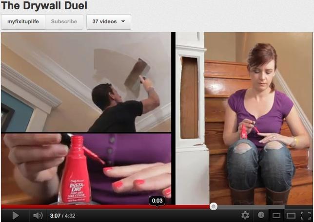 Drywall repair: Paper tape or mesh?
