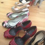 Theresa's shoes...a few pairs