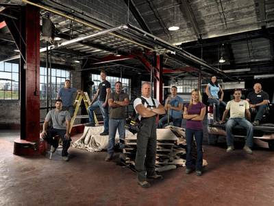 Mike Holmes crew and the cast of HGTV's 'Holmes Inspection'