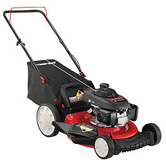 Troy-Bilt TB130, a smart, well-executed, powerful mower.