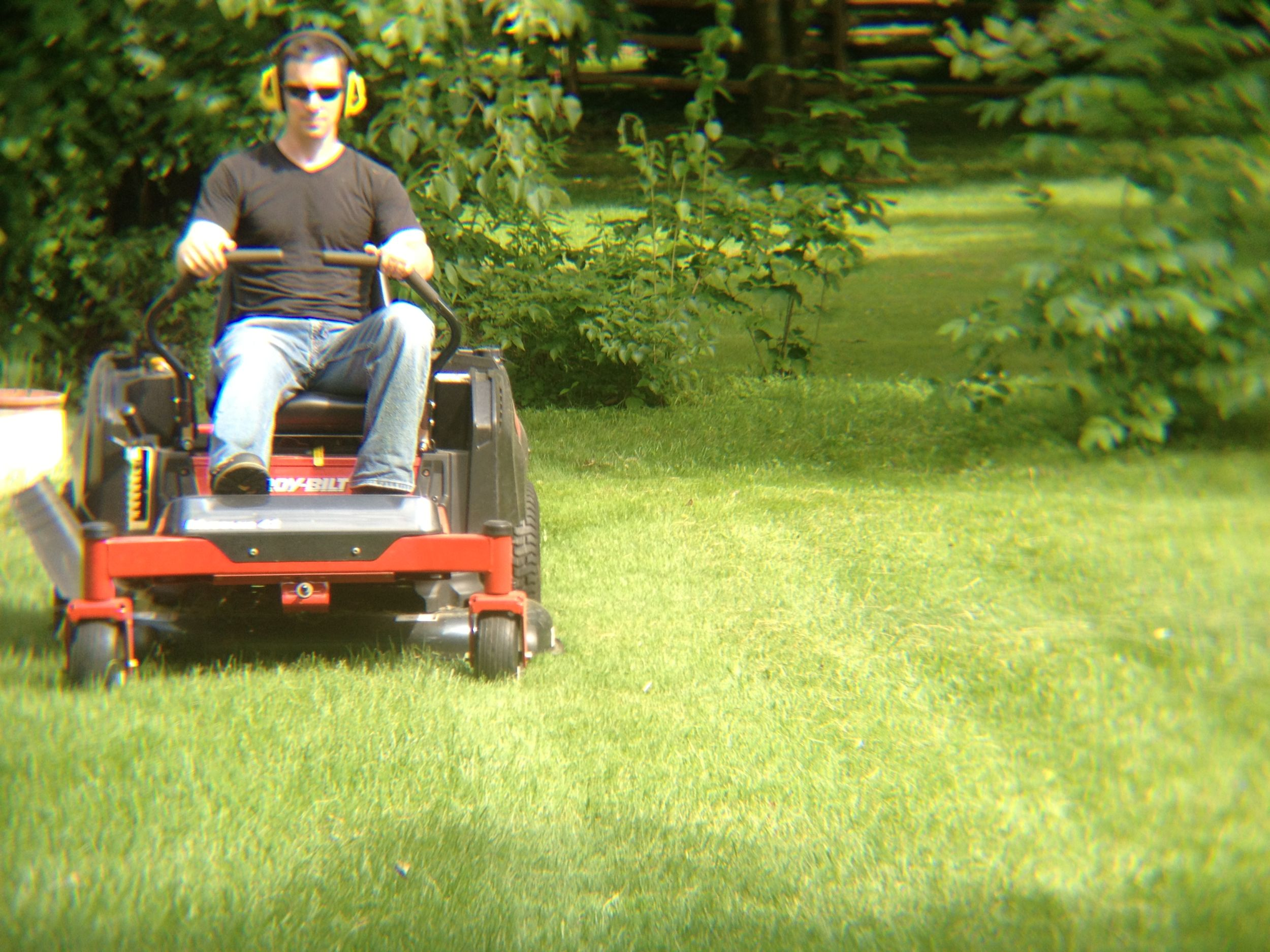 Mark Troy Bilt Mower