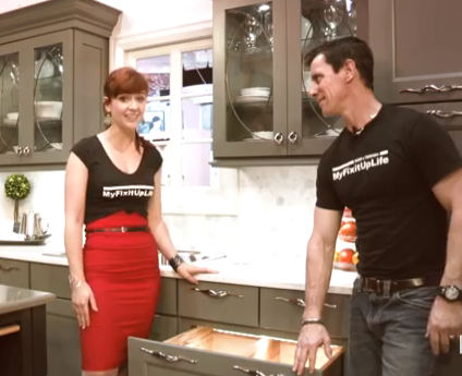 Video Mark And Theresa Talk Cabinets At The Kitchen And