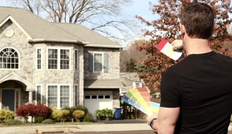 Mark Choosing paint colors DaVinci Roofscapes Color Therapist