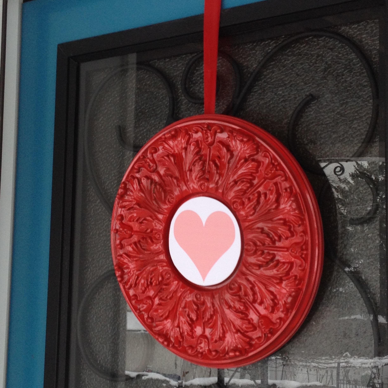 Valentine's Day wreath Fypon