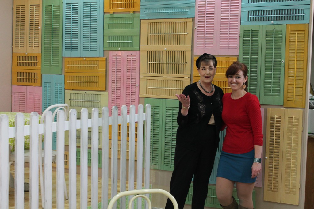 Kerry Vincent & Theresa enjoy the makeover at Lori's for 'Save My Bakery' on Food Network