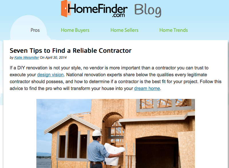 What to look for in a contractor for How to find a reputable builder