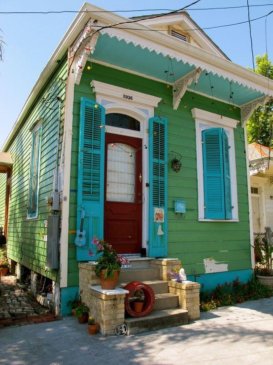 A Tiny House Can Be Super Charming And Colorful.