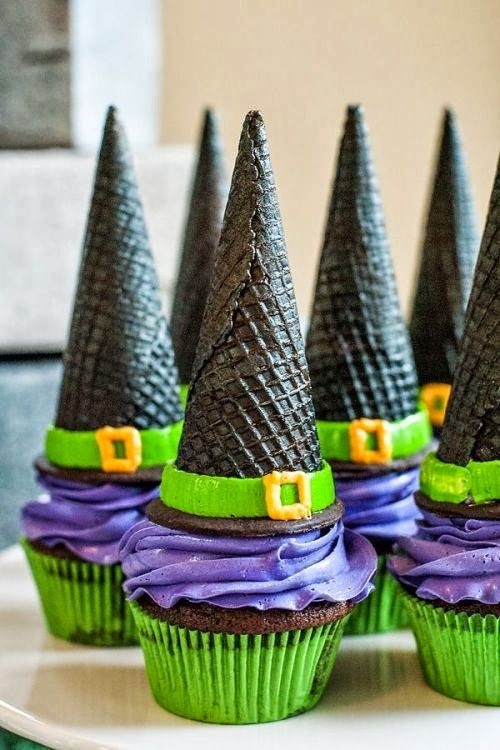 Witch Cupcakes - MyFixitUpLife