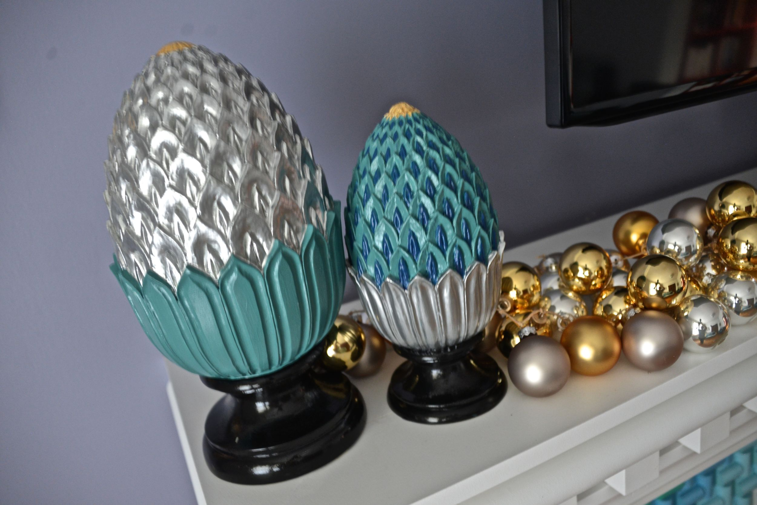 Fypon Finial Pineapple - Festive Decor - MyFixitUpLife