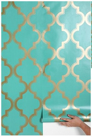 Removable wallpaper apartment therapy easy renter design ideas