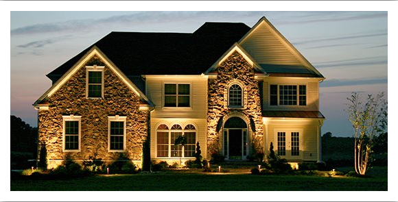 curb appeal at night with the perfect light