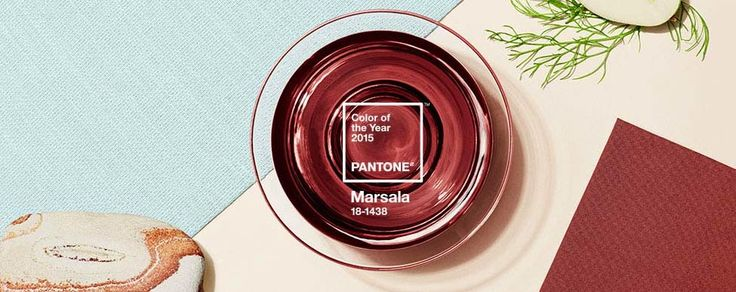 Pantone- Color of the year - Marsala