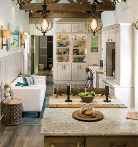 Use Cabinets As Furniture In Home Decor