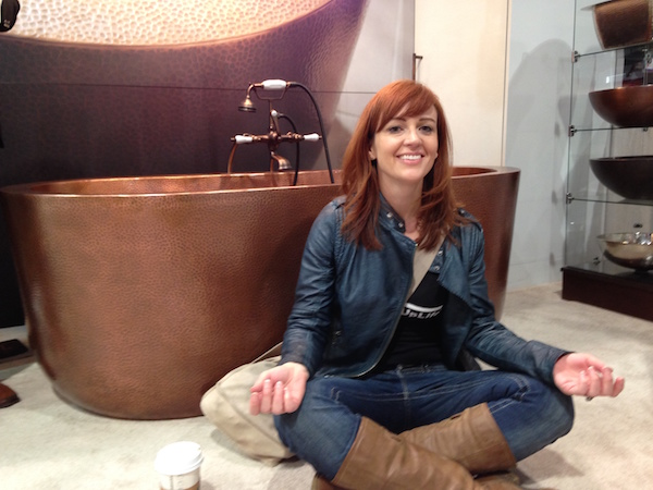 Thersea Tub Thompson Traders Copper Tub KBIS Laurie March
