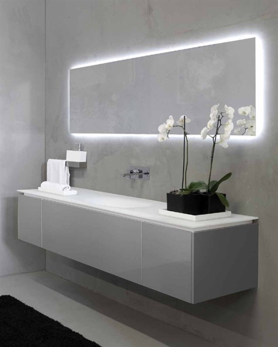 Add Lighting Drama With Led Backlighting Ideas