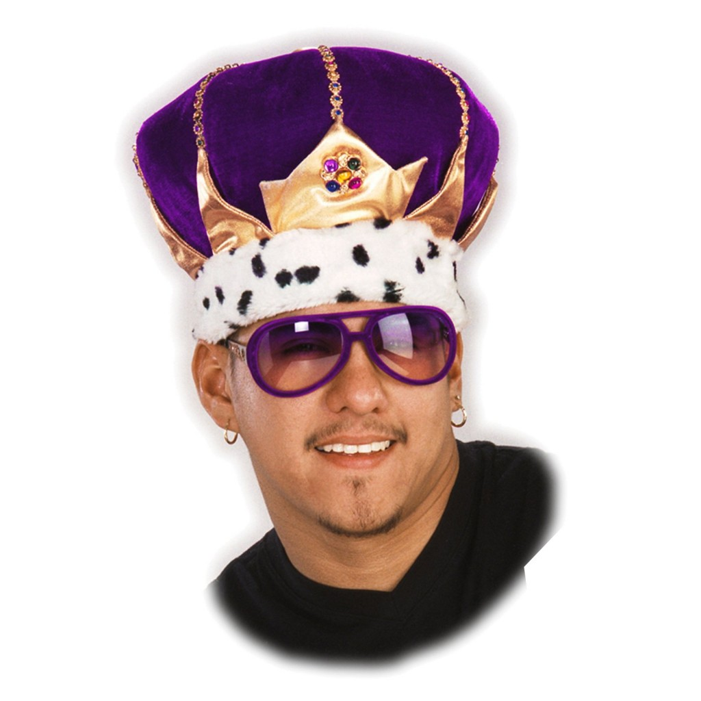 King hat with secret compartment