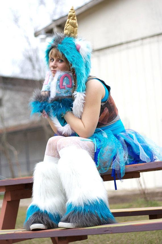 unicorn costume with secret compartment