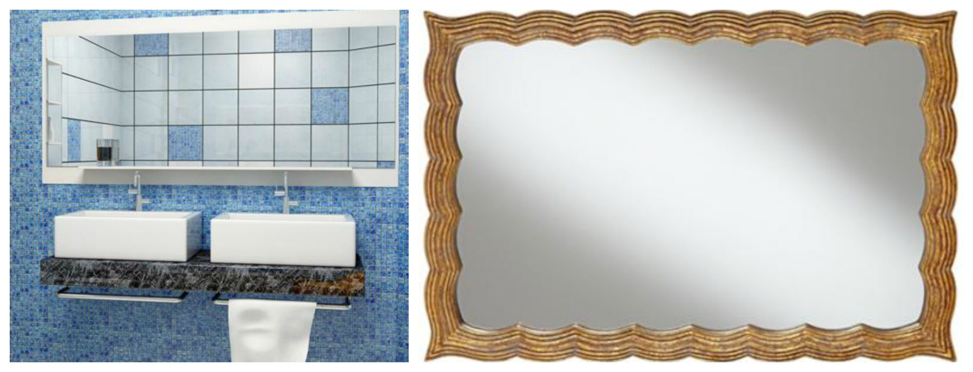 Bathroom mirrors can do more than just be a passive reflection.
