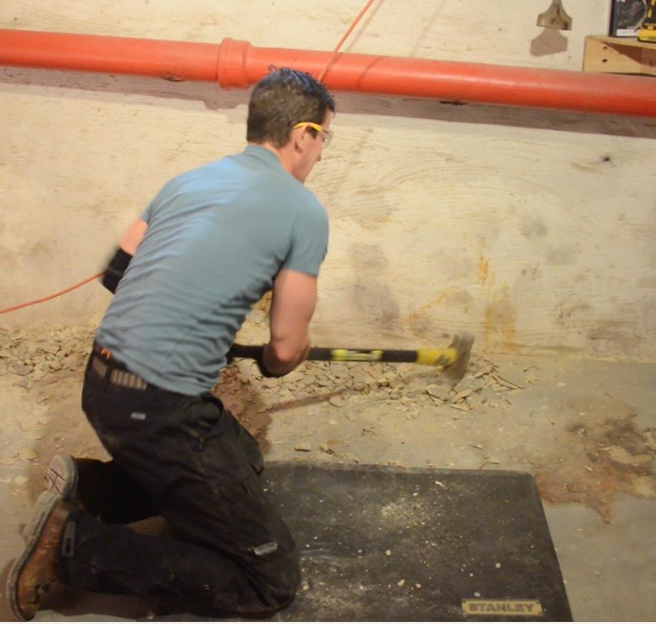 Best To Worst Rating 13 Basement Flooring Ideas: Basement Bathroom Design Ideas, Poop And The Worst Job In Plumbing