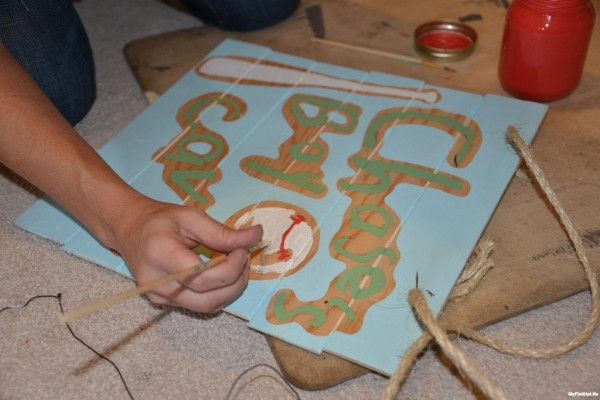 2015_Making Boy Cave Sign