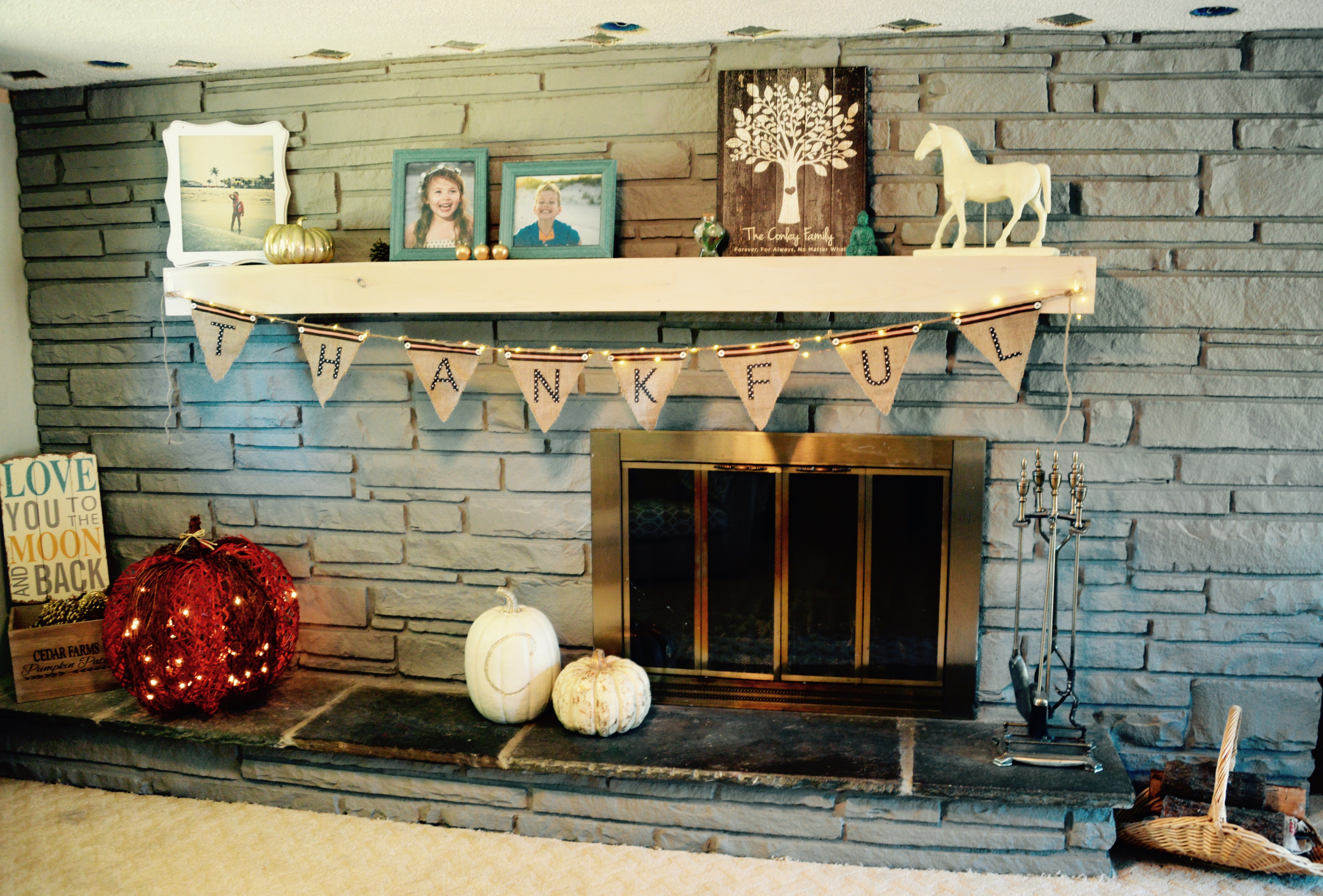 makeover mission freshen up a dated fireplace for a modern family