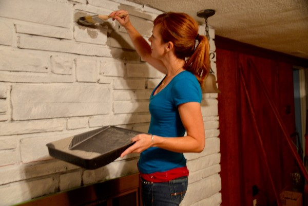 Makeover mission: Freshen up a dated fireplace for a modern family ...