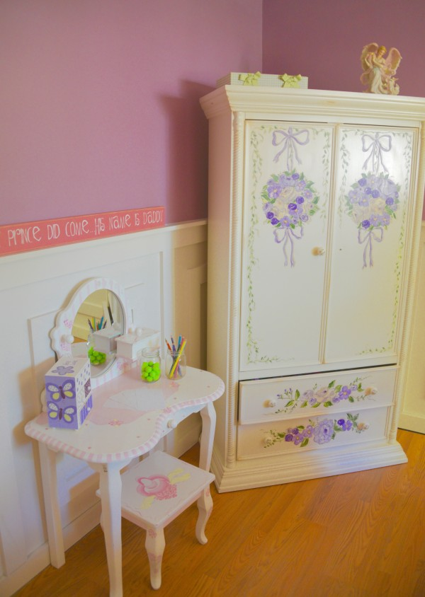 Little girl's bedroom after MyFixitUpLife