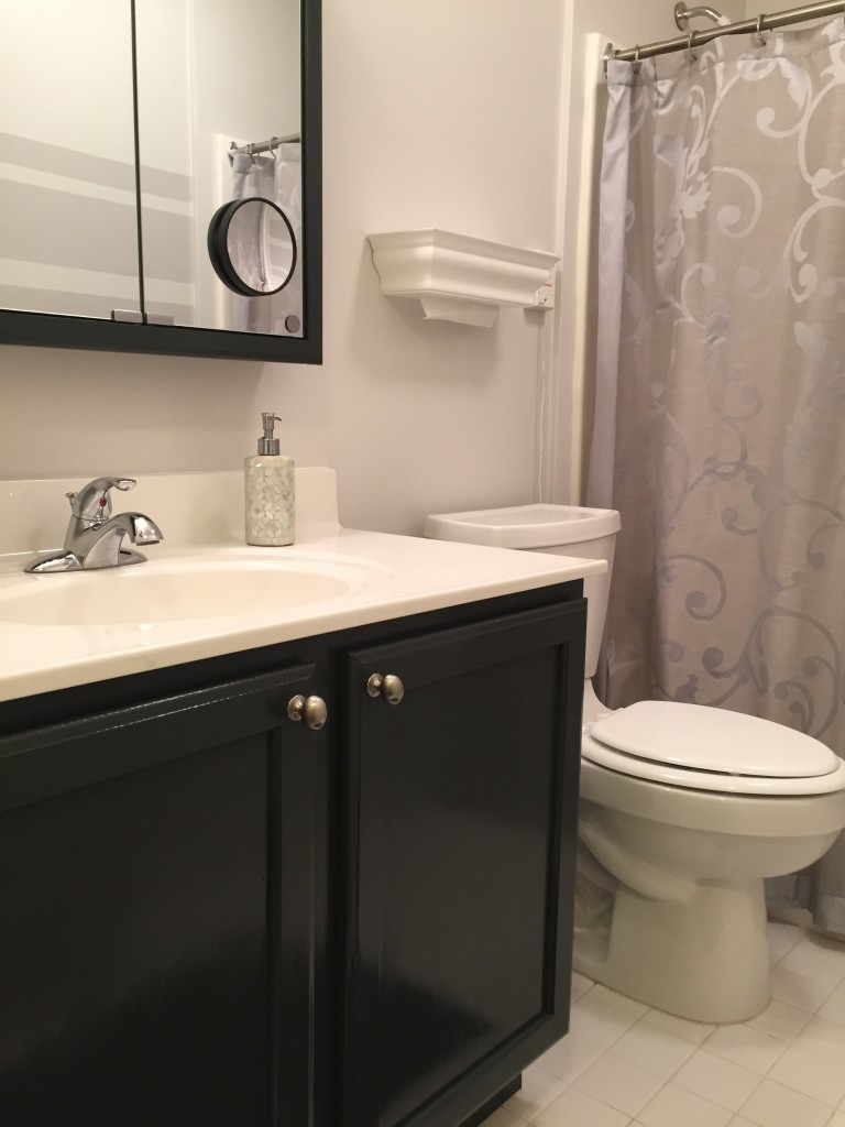 My mom says she loves the new color and the bathroom makeover. But she's my mom, so what do you thin?