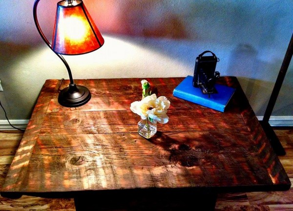 how to build a barrel coffee table