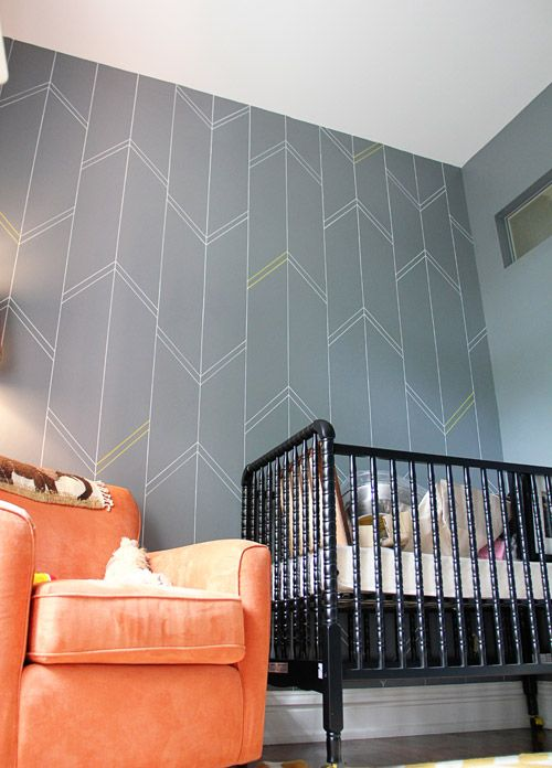 Painting patterns + bold paint designs are easier than you imagine ...