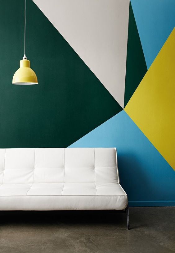 Painting Patterns + Bold Paint Designs Are Easier Than You Imagine,  #HossColor