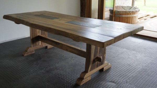 Your diy reclaimed wood table by nicolas for Reclaimed wood oregon