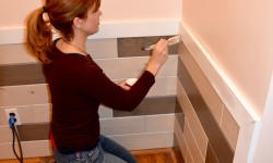 Wood Wainscoting