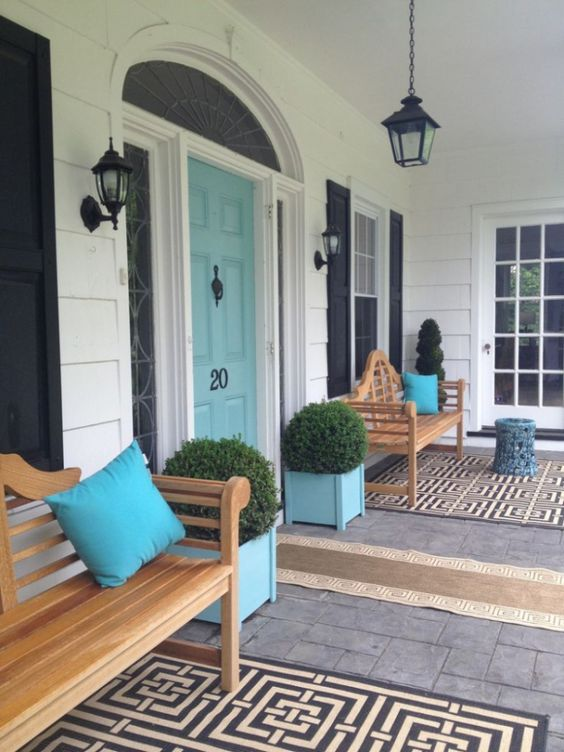 Front door colors are that powerful yes so choose that White house shutter color ideas