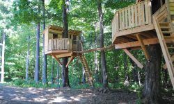 So fun chatting with Caleb from New Leaf Treehouse Co! Check out this work.  Photo source: New Leaf Treehouse Co.