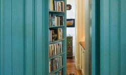 Secret passageway bookshelf geek chic