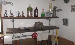 You DIY - Phil - Steampunk bathroom shelf