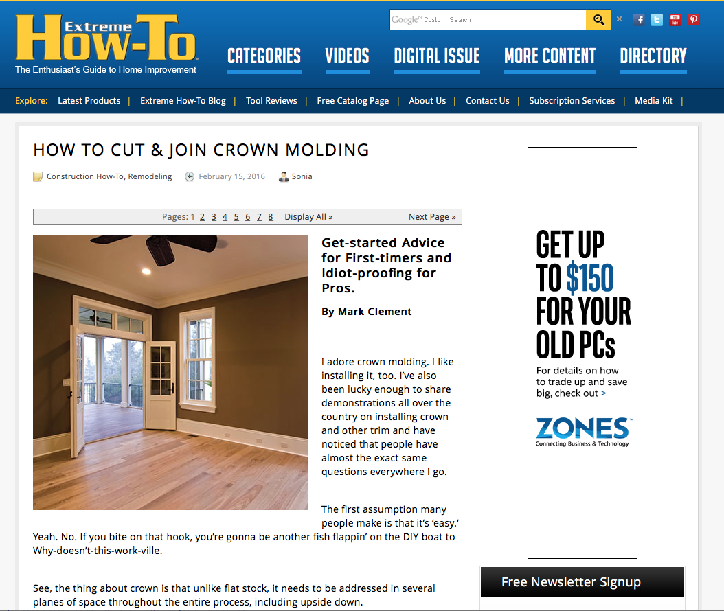 Installing Crown Molding: Getting Started And Pro Tips