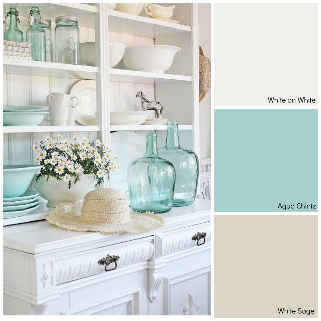 White Lagoon Glidden Paint