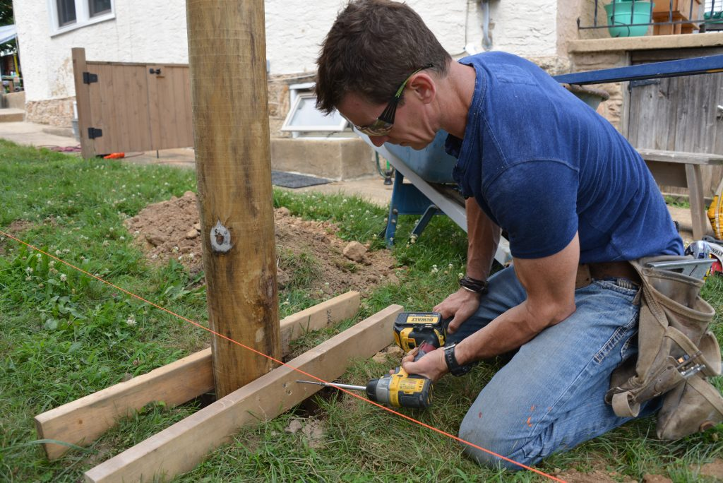 how to home improvement building a wood fence beginner s diy