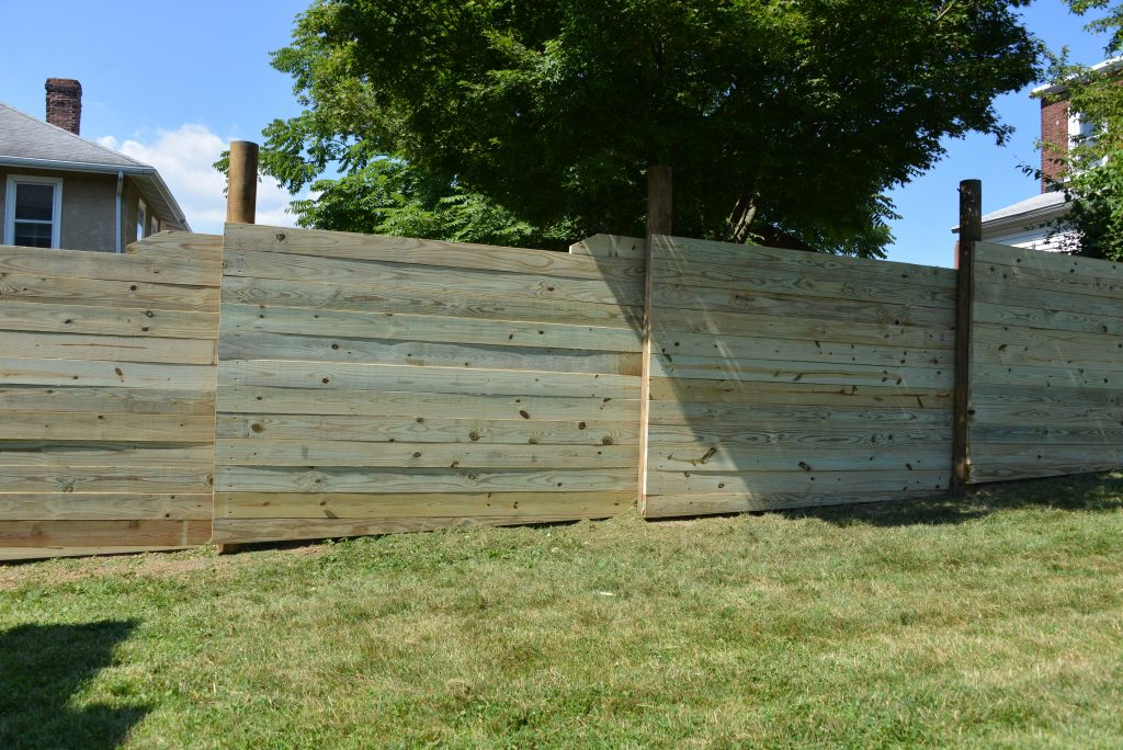 Wood Naturally fence design